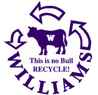 Williams recycling logo